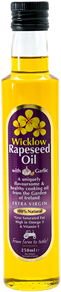 Wicklow Rapeseed Oil with Garlic 250ml