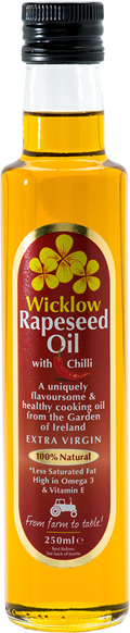 Wicklow Rapeseed Oil with Chilli