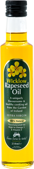 Wicklow Rapeseed Oil 250ml