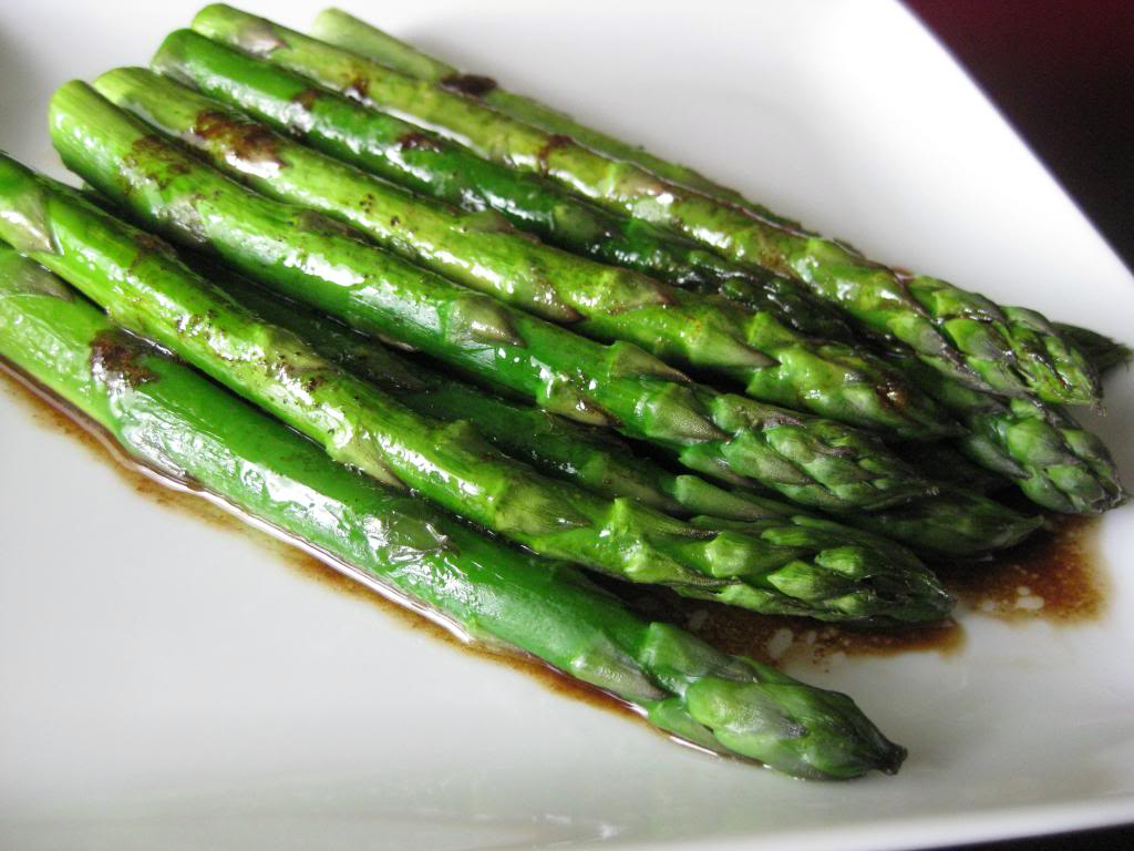 Roasted Lemon & Balsamic Asparagus