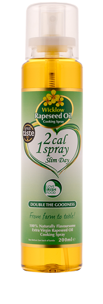 2 Cal Cooking Spray - Wicklow Rapeseed Oil - 200ml