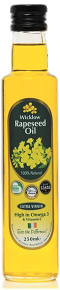 Wicklow Rapeseed Oil 250ml