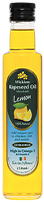 Wicklow Rapeseed Oil with Lemon 250ml