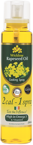 Wicklow Rapeseed Oil 2-Cal Spray